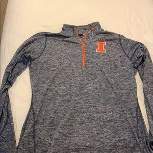 Illinois Fighting Illini Nike Women's 1/4 Pullover